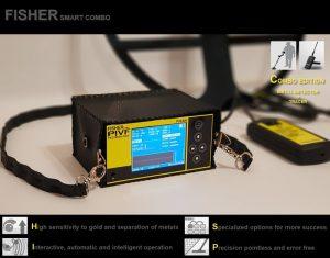 فلزیاب ردیاب طلایاب قدرتمند ارزان قیمت fisher smart combo 300x235 پروژه آماده فلزیاب