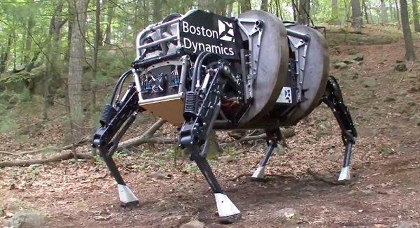 boston dynamics alphadog آشنایی با ربات های بوستون داینامیک
